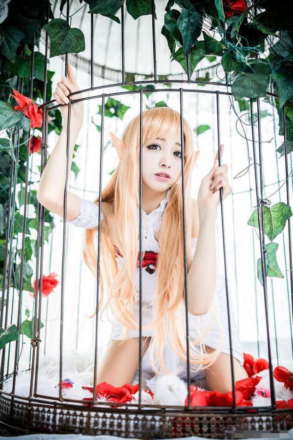 刀剑神域女神级COS 亚丝娜美呆了 -第5张图片-梦月快巴