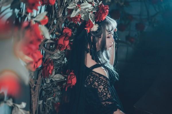 哥特风Lolita私影 -第7张图片-梦月快巴