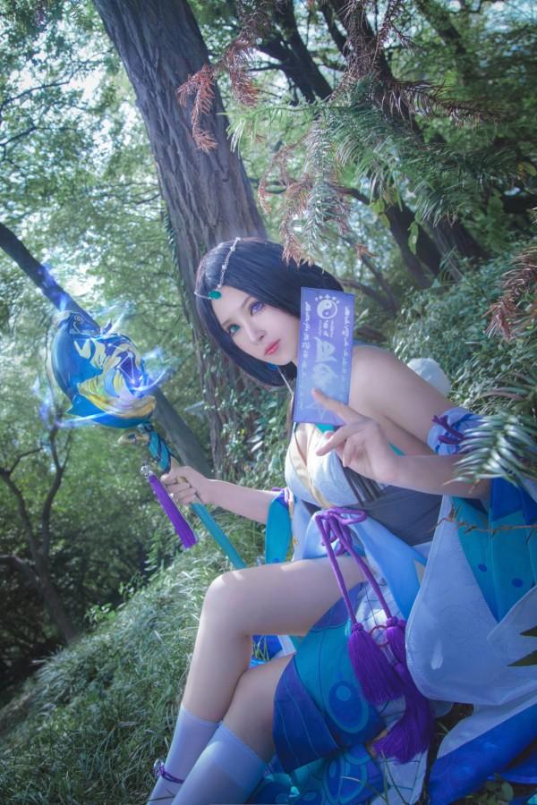 阴阳师手游八百比丘尼cosplay-第5张图片-梦月快巴