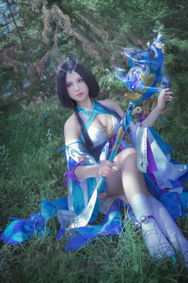 阴阳师手游八百比丘尼cosplay-第8张图片-梦月快巴